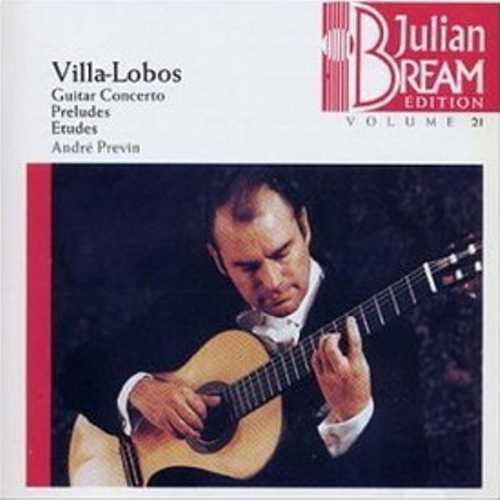 Julian Bream: Heitor Villa-Lobos - Guitar Concerto, Preludes, Etudes (FLAC)