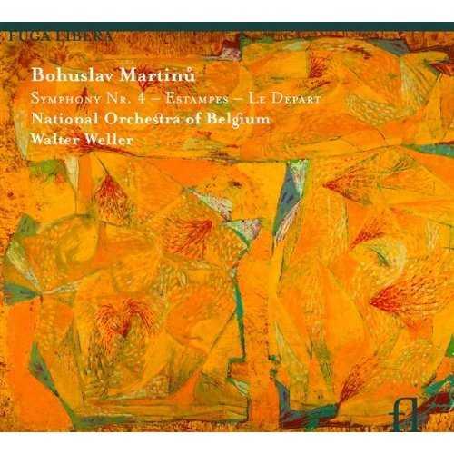 Martinu: Symphony No. 4, Estampes & Le Départ (APE)
