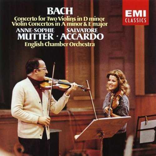 Mutter, Accardo: Bach - Violin Concertos (APE)