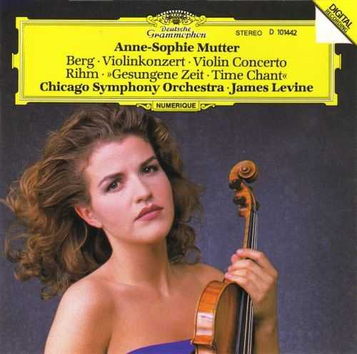 "Anne-Sophie Mutter: Berg - Violin Concerto, Rihm - ""Time Chant"" (APE)"