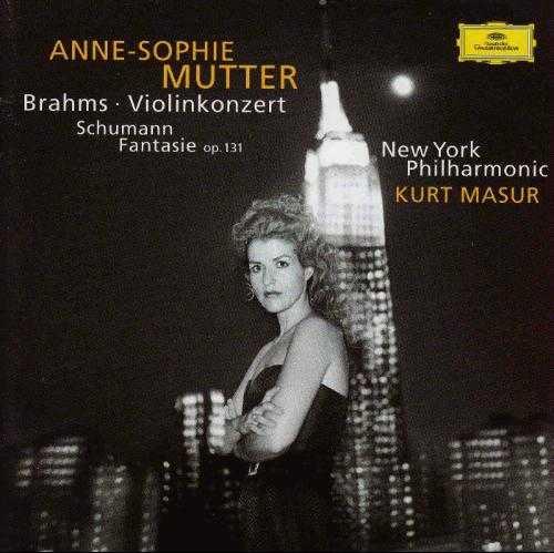 Anne-Sophie Mutter: Brahms - Violin Concerto, Schumann - Fantasie op.131 (APE)