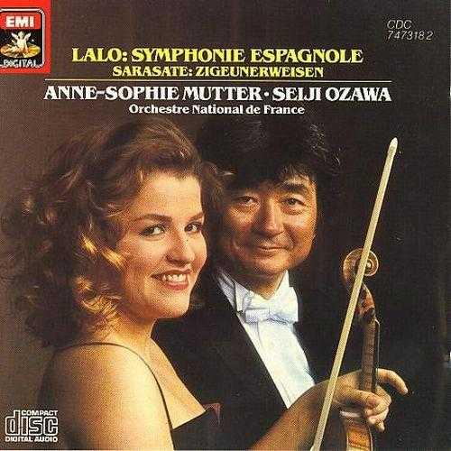 Anne-Sophie Mutter: Lalo - Symphonie Espagnole, Sarasate - Zigeunerweisen (APE)