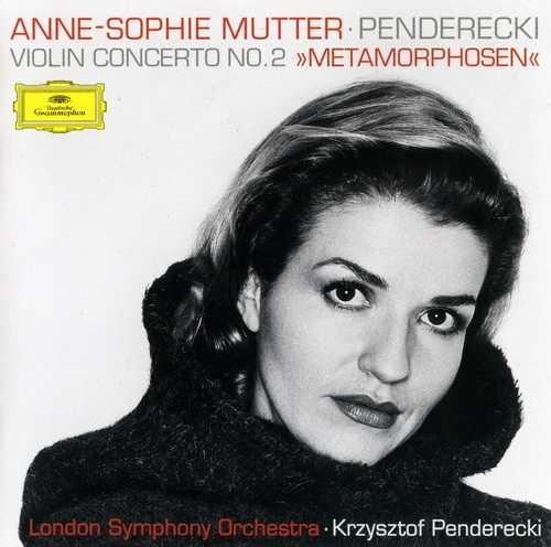 "Anne-Sophie Mutter: Penderecki - Violin Concerto no. 2 ""Metamorphosen"" (FLAC)"