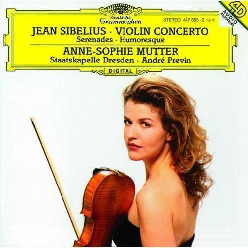 Anne-Sophie Mutter: Jean Sibelius - Violin conceerto, Serenades, Humoresque (FLAC)