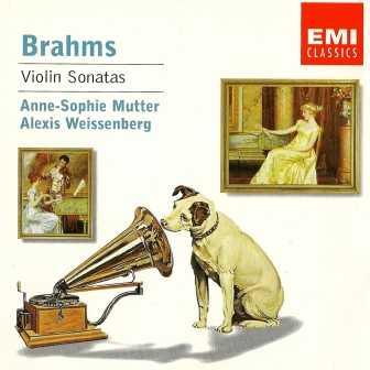 Anne-Sophie Mutter, Alexis Weissenberg: Brahms - Violin Sonatas (FLAC)