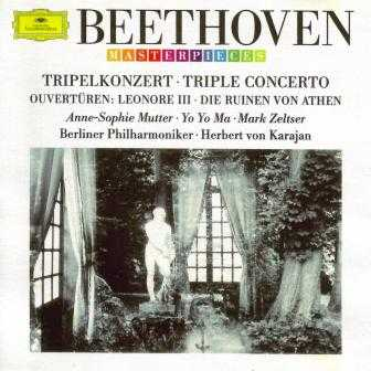 Anne-Sophie Mutter: Beethoven - Triple Concerto, 3 Ouvertures (APE)