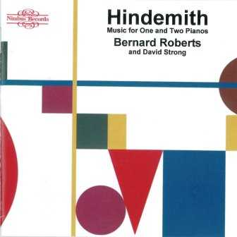 Hindemith: Music for One and Two Pianos (2 CD, FLAC)