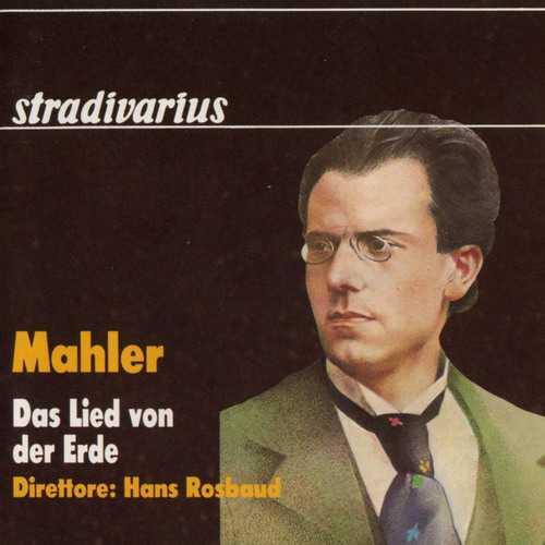 Rosbaud: Mahler - Das Lied von der Erde (APE)