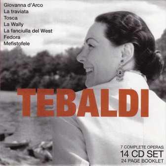 Renata Tebaldi - 7 Complete Operas (14 CD box set, FLAC)