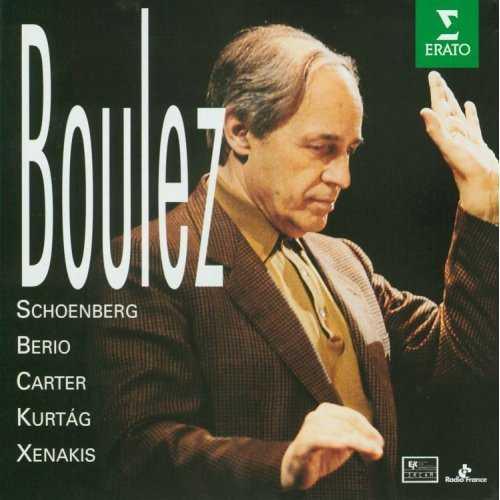 Pierre Boulez: Schoenberg, Berio, Carter, Kurtág, Xenakis (5 CD, FLAC)