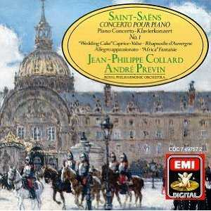 Saint-Saens - Piano Concertos (3 CD series, APE)