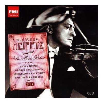 EMI Icon: Jascha Heifetz - The Master Violinist (6 CD box set, APE)