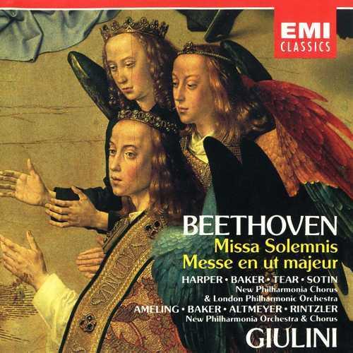 Giulini: Beethoven - Missa Solemnis, Mass in C Major (2 CD, APE)