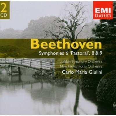 "Giulini: Beethoven - Symphonies 6 ""Pastoral"", 8 & 9 (2 CD, FLAC)"