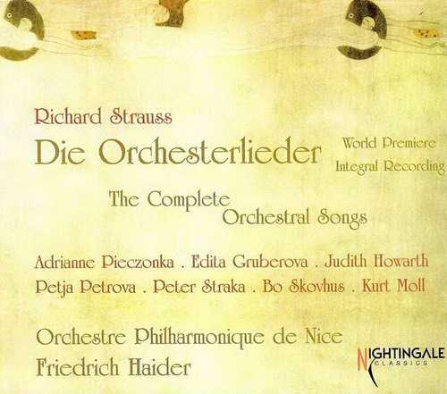 Haider: Strauss - The Complete Orchestral Songs (3 CD, APE)