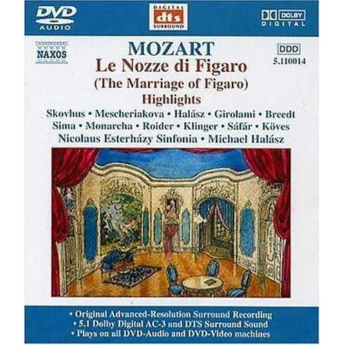 Mozart: Le Nozze di Figaro, Highlights (DVD-A, ISO)