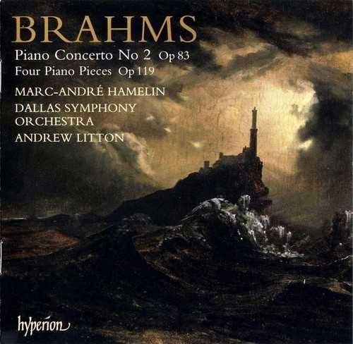 Hamelin: Brahms - Piano Concerto no.2, Four Piano Pieces, op.119 (FLAC)