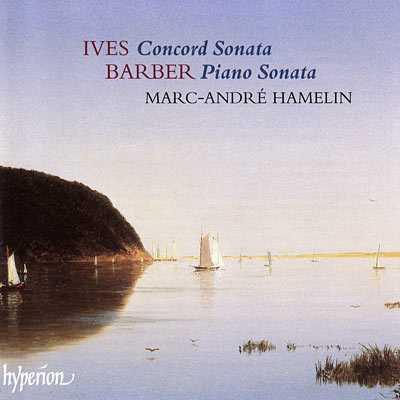 Hamelin: Ives - Concord Sonata, Barber - Piano Sonata (FLAC)