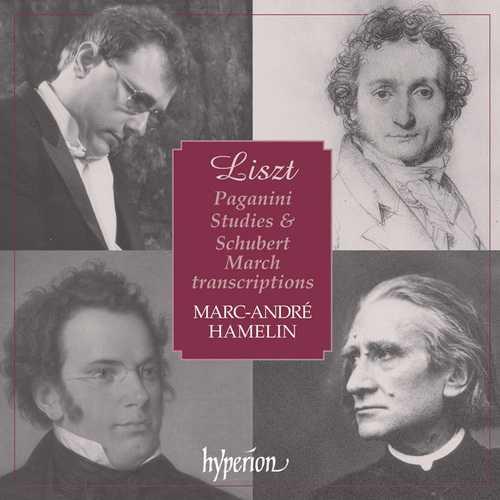 Hamelin: Liszt - Paganini Studies, Schubert March Transcriptions (FLAC)