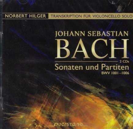 Hilger: Bach - Sonatas and Partitas, transcription for solo cello (2 CD, FLAC)