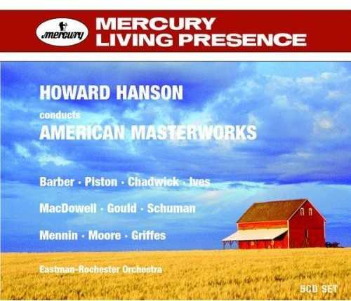 Howard Hanson conducts American Masterworks (5 CD box set, FLAC)