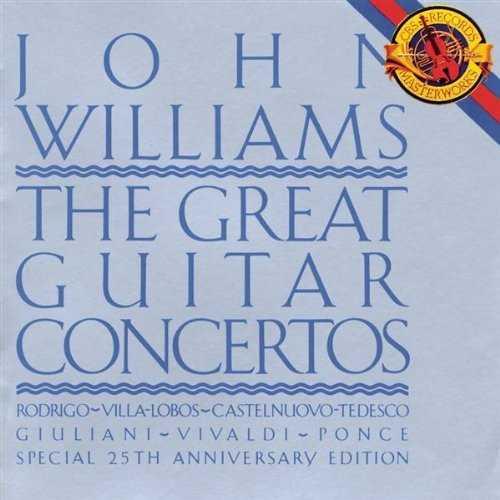 John Williams - The Great Guitar Concertos (2 CD, APE)
