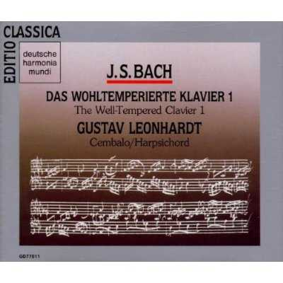 Leonhardt: Bach - Well Tempered Clavier (4 CD, FLAC)