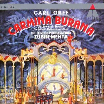 Mehta: Orff - Carmina Burana (FLAC)