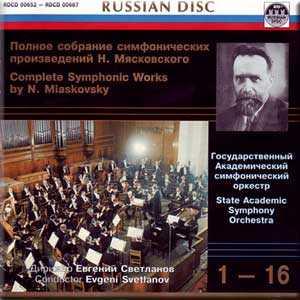 Myaskovsky - Complete Symphonic Works (16 CD box set, APE)