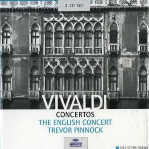 Pinnock, The English Concert: Vivaldi - Concertos (5 CD box set, FLAC)