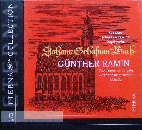 Gunter Ramin: Bach - Eterna Collection (12 CD box set, APE)