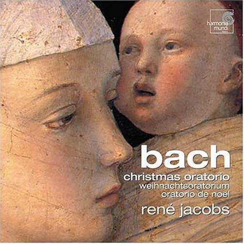 Rene Jacobs: Bach - Christmas Oratorio (2 CD, APE)