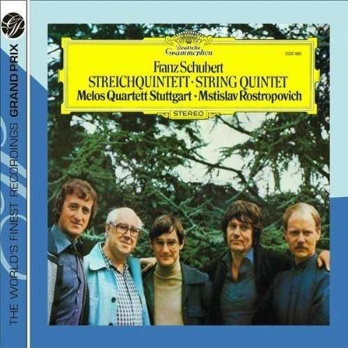 Rostropovich, Melos Quartet: Schubert - String Quintet (APE)