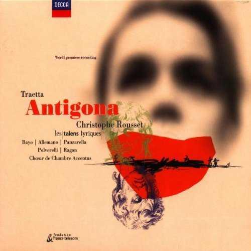 Rousset: Traetta - Antigona (2 CD, APE)