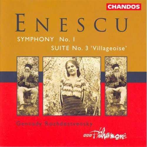 Rozhdestvensky: Enescu - Symphony no.1, Suite no.3 'Villageoise' (FLAC)