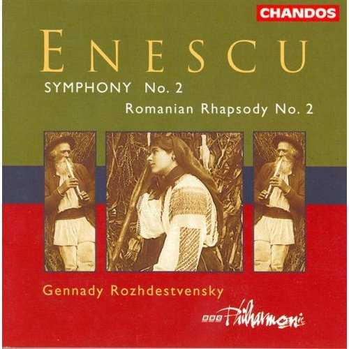 Rozhdestvensky: Enescu - Symphony no.2, Romanian Rhapsody no.2 (FLAC)