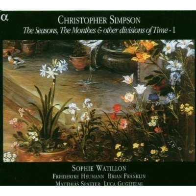 Chrostopher Simpson: The Seasons, The Monthes & other divisions of Time vol.1 (FLAC)