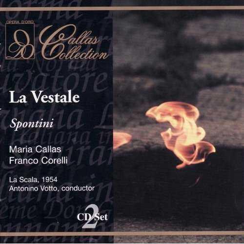 Callas, Corelli, Votto: Spontini - La Vestale (2 CD, APE)