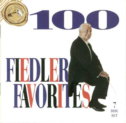 100 Fiedler Favorites (7 CD box set, FLAC)