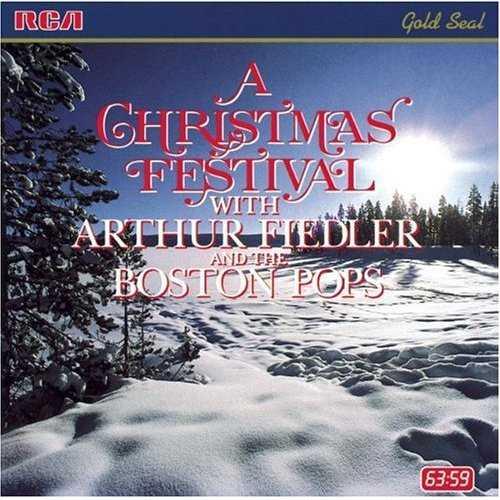 Arthur Fiedler & The Boston Pops - A Christmas Festival (FLAC)