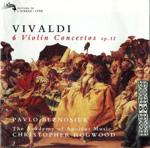 Beznosiuk, Hogwood: Vivaldi - 6 Violin Concertos op.12 (APE)
