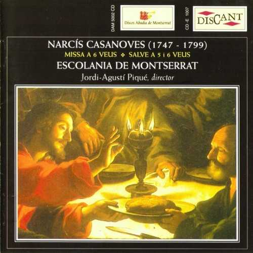 Narcis Casanoves - Mass for 6 Voices, Salve for 5 & 6 Voices (FLAC)