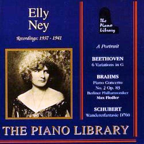 Elly Ney - Recordings 1937-1941 (FLAC)