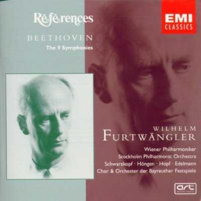 Furtwangler: Beethoven - The 9 Symphonies (5 CD box set, APE)