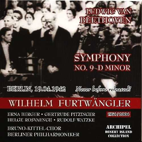 Furtwangler: Beethoven - Symphony no.9 in D Minor 19.04.1942 (FLAC)