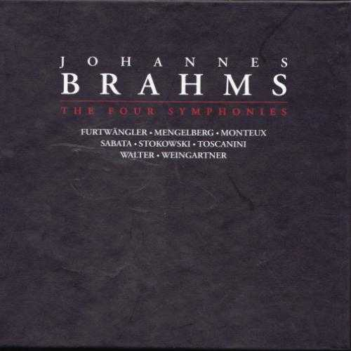Johannes Brahms: The Four Symphonies (4 CD box set, FLAC)
