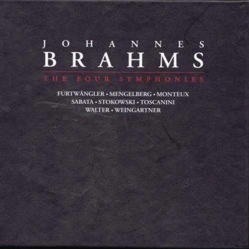 Johannes Brahms: The Four Symphonies (4 CD box set, FLAC)