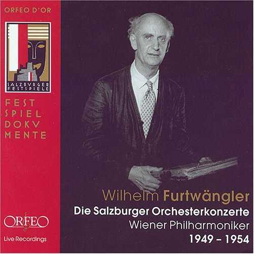 Furtwangler - Die Salzburger Orchesterconzerte (8 CD box set, APE)