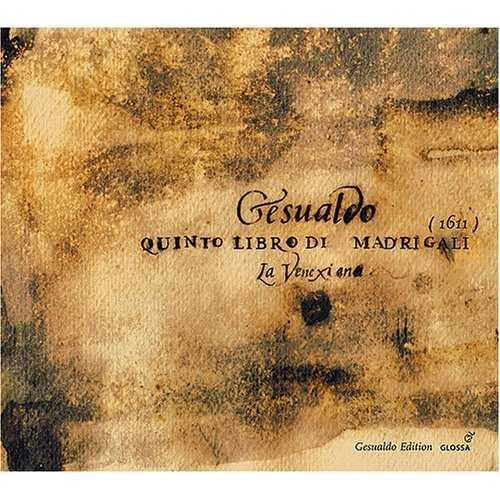 Gesualdo - Quinto Libro di Madrigali 1611 (APE)
