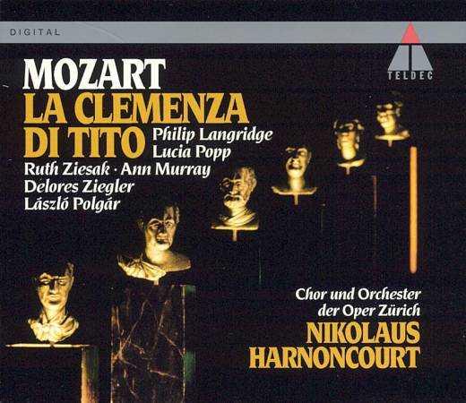 Harnoncourt: Mozart - La clemenza di Tito (2 CD, FLAC)